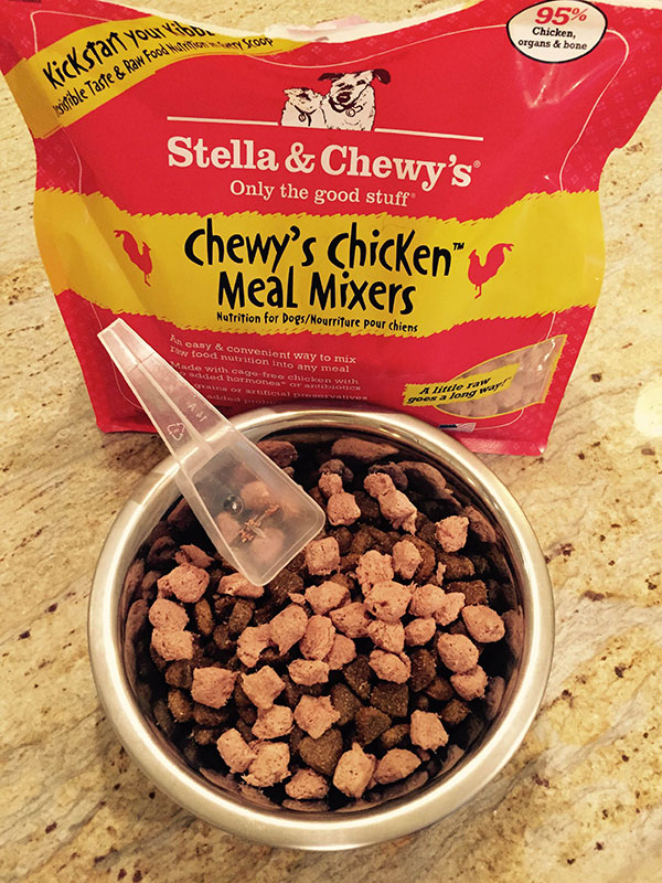 Getting the Stella & Chewy's Meal Mixers